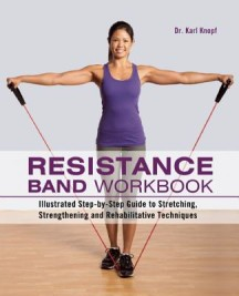 resistance band workout by dr karl knopf book cover