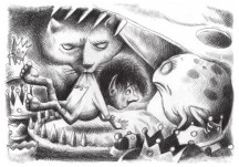 Illustration by Ana Juan from The Boy Who Lost Fairyland