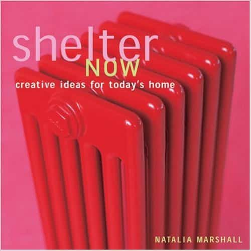 Shelter Now decorating book by Natalia Marshall, book cover