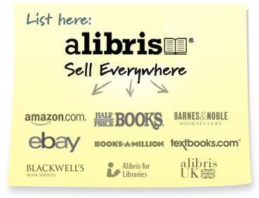 List your items for sale at Alibris and they are also listed on our partners' sites automatically.