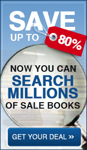 Save up to 80% on millions of sale books