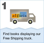 Free shipping on books: Learn how to get it.  1. Find books displaying our Free Shipping truck.